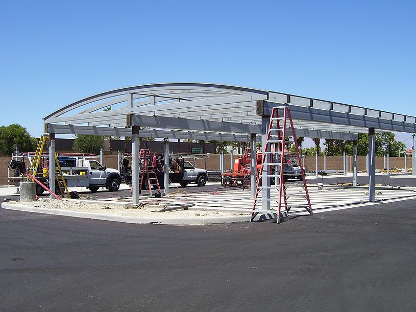 Carport Steel Structure