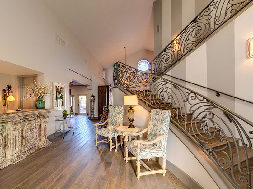 Balcony and Stair Guardrailing