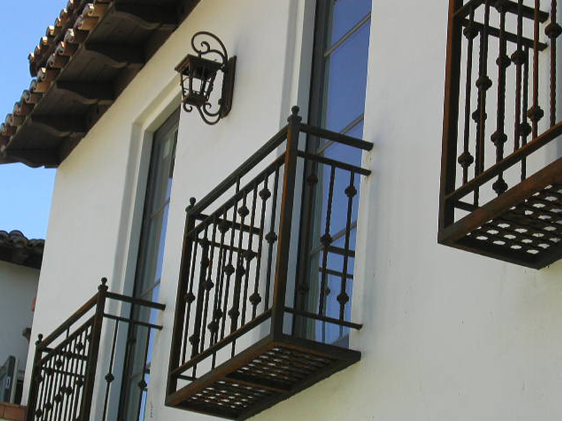 Decorative Balcony Railing
